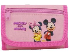 Disney Pink Trifold Mickey and Minnie... $2.00