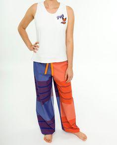 Ladies Handmade Pajama Set  Women's Two Piece Foxy by PajamasNmore #fox