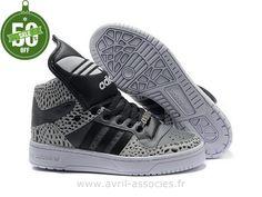official photos 1420e 67a54 Adidas 2016 - Chaussure de course Adidas Originals Metro Attitude Homme et  Femme - gris foncé noir gris clair (Adidas Pas Cher)