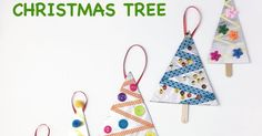 Beautiful Christmas tree ornaments made using aluminum foil. An easy and fun kid made Christmas decoration idea. Perfect craft for preschoolers and toddlers. Makes a great school craft project.