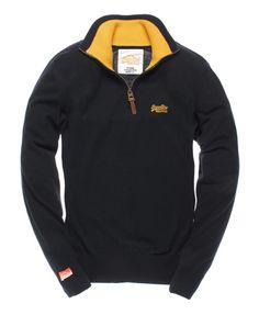 Superdry Henley Regatta - Mens Knitwear