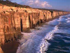 Southern Oregon Pacific Ocean Cliffs, Blacklock Point, Oregon