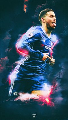 Eden Michael Hazard is a Belgian professional footballer who plays for English club Chelsea and th. Hot Football Fans, Chelsea Football, Football Boys, Football Stuff, Belgium National Football Team, Eden Hazard Wallpapers, Thorgan Hazard, Chelsea Fc Players, Chelsea Wallpapers