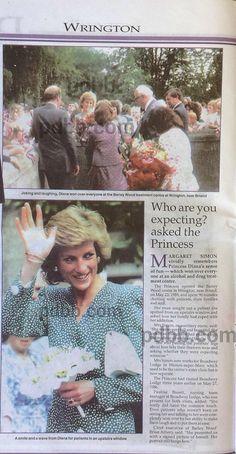 Barley Wood Centre Wrington 23 May 1989
