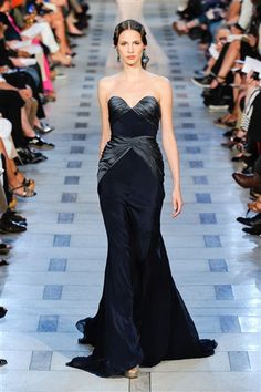 Zac Posen Spring 2012: Back to his Red Carpet Roots