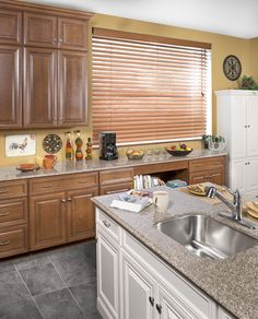 WOLF Classic Cabinets in Hudson Heritage Brown with a Chocolate Glaze