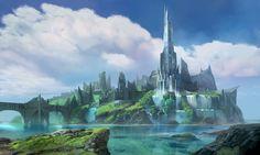 ArtStation - Fantasy City Concept- Rise to the Throne, Atomhawk Design