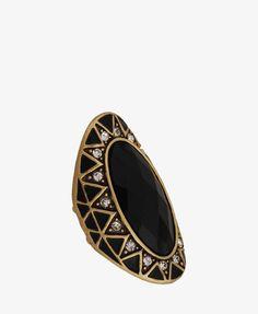 #Forever21                #ring                     #Zigzag #Oval #Ring       Zigzag Oval Ring                                    http://www.seapai.com/product.aspx?PID=96887
