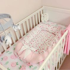 Doc a tot Baby Sleeper Transition Bed Co-sleeper 23 READY TO SHIP floral Crib Bedding Baby Nest Nursery Baby Shower Gift Woodland,