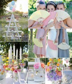 pastel rainbow wedding inspirationAll Things Bright And Beautiful #Labola Loves Them All. #Labola.co.za