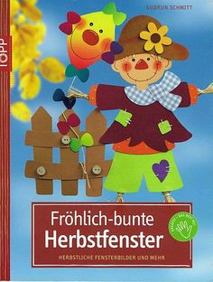 Frohlich-bunte Herbstfenster - jana rakovska - Λευκώματα Iστού Picasa Class Decoration, School Decorations, Autumn Crafts, Autumn Art, Magazine Crafts, Fall Deco, Magazines For Kids, Painted Books, Autumn Activities