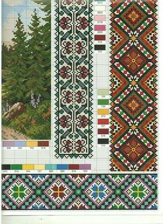 Just Cross Stitch, Cross Stitch Borders, Cross Stitch Charts, Cross Stitch Embroidery, Embroidery Patterns, Cross Stitch Patterns, Quilt Patterns, Mosaic Flower Pots, Crochet Birds
