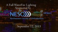 The New England Society of Orthodontists brought smiles to the visitors of the city of Providence this September 12, as they sponsored a WaterFire full lighting! Relive the event or experience it for the first time through this video recap, and visit WaterFire.org for more information. #waterfire #providence