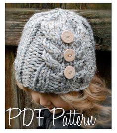 Tejer PATTERN-The Irelynn sombrero niño niño por Thevelvetacorn