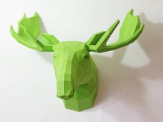Geometric Paper Sculptures by Wolfram Kampffmeyer - DIY, I want one!