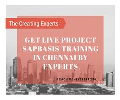 Real Time SAP Basis Training in Chennai by Experts