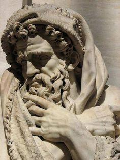 iotaorionis:  Hadrianic Roman sculpture. Louvre museum.  Pierre ler Legros (1629-1714),L 'Hiver (The Winter),Musée du Louvre, Paris