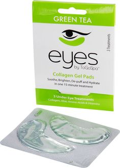 Collagen Eye Pads Soothing Collagen Gel Pads Minimize the Wrinkles and Puffiness Under Your Eyes