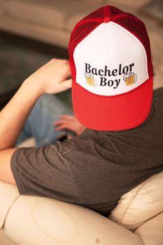 """Bachelor Boy"" | Parks & Rec | Trucker Hat | Wedding Party"