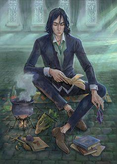Defender Of Severus Snape: Photo Fanart Harry Potter, Harry Potter Poster, Mundo Harry Potter, Harry Potter Universal, Harry Potter Fandom, Harry Potter World, Harry Potter Hogwarts, Professor Severus Snape, Harry Potter Severus Snape