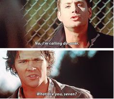 Jensen Ackles as Dean Winchester and Jared Padalecki as Sam Winchester - Supernatural 2x05 Simon Said