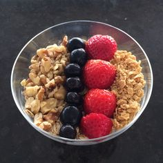 Maple Walnut Oatmeal Recipe Maple Walnut, Oatmeal Recipes, Acai Bowl, Cooking, Breakfast, Healthy, Food, Acai Berry Bowl, Kitchen