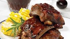 Smoky Ribs with Honey Mustard BBQ Sauce | Thrifty Foods Recipes