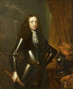 Caspar Netscher - Willem III (1650-1702), prins van Oranje en sinds 1689 koning van Engeland