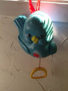 FisherPrice Vintage Toy Bluebird Music Box 1969