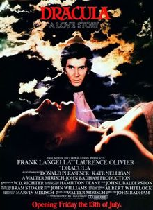 Dracula (1979) Frank Langella, Lauence Olivier, Donald Pleasence, Kate Nelligan