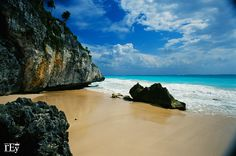 AFAR.com Highlight: The Beach at the Tulum Ruins by Rey Madolora