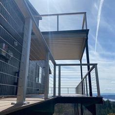 Deck Railing Systems, Deck Railings, Deck Framing, Steel Deck, Deck Builders, Decking, Home Renovation, Steel Frame, Evolution