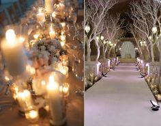 Zimowe przyjęcia weselne