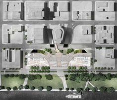 Galeria de Snøhetta projeta novo mercado público para Portland - 4