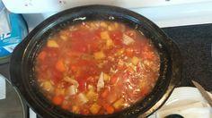 Turkey soup Turkey Soup, Chili, Cooking, Food, Baking Center, Ground Turkey Soup, Chili Powder, Eten, Chile