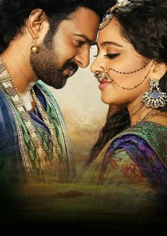 Amarendra bahubali and Devasena..the epic couple... lovely pair..