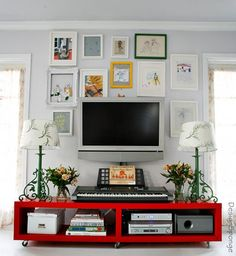 Onde pendurar a tv? - dcoracao.com - blog de decoração