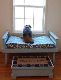 DIY Pallet Dog Bed Ideas