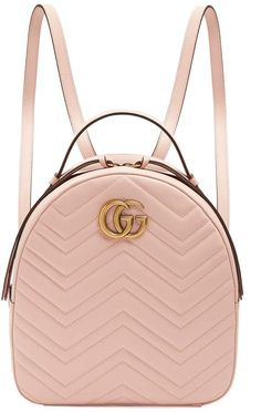1f7d0812de9c GUCCI GG Marmont quilted-leather backpack Backpack Travel Bag