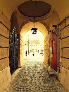 Sibiu Romania, Beautiful Architecture, Old Town, Old City