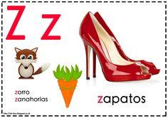 Asociamos los sonidos con las grafías convencionales - Letra Z -