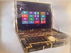 Персональные подарки ручной работы. Chocobook (ноутбук из шоколада и конфет). Елена (bestdecor). Интернет-магазин Ярмарка Мастеров. Сладкий подарок