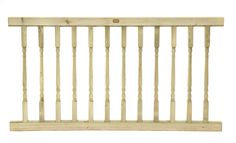 Garden Balustrade Spindle Panel which measures Wide x is Jakcured for a 25 year guarantee. Decking Panels, Trellis Panels, Fence Panels, Metal Gates, Metal Fence, Agricultural Fencing, Acoustic Barrier, Jacksons Fencing, Wood Balusters