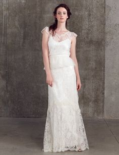Bridal Separates. Cicely Skirt | Vintage Lace Skirt | Sally Lacock