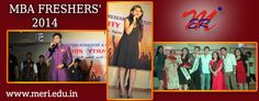 #MERI Organised #Freshers Party For MBA Students' 2014!!!! #BestEngineeringCollege http://meri.edu.in/