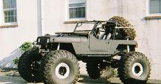 Jeep auto - Monster Wheel Jeep