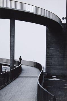 Karl Hugo Schmölz, Brücke in Düsseldorf (Bridge in Dusseldorf), 1963