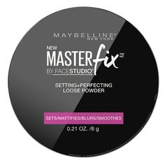 Try Maybelline FaceStudio Master Fix Setting + Perfecting Loose Powder