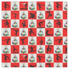JOLLY GYMNASTICS CHRISTMAS DESIGN FABRIC http://www.zazzle.com/collections/gymnastics_christmas_fabric-119364111341326798?rf=238246180177746410 Gymnastics #Gymnast #IloveGymnastics #Gymnastchristmasfabric #WomensGymnastics #Gymnastfabric