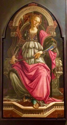Sandro Botticelli, Fortitude (1470)